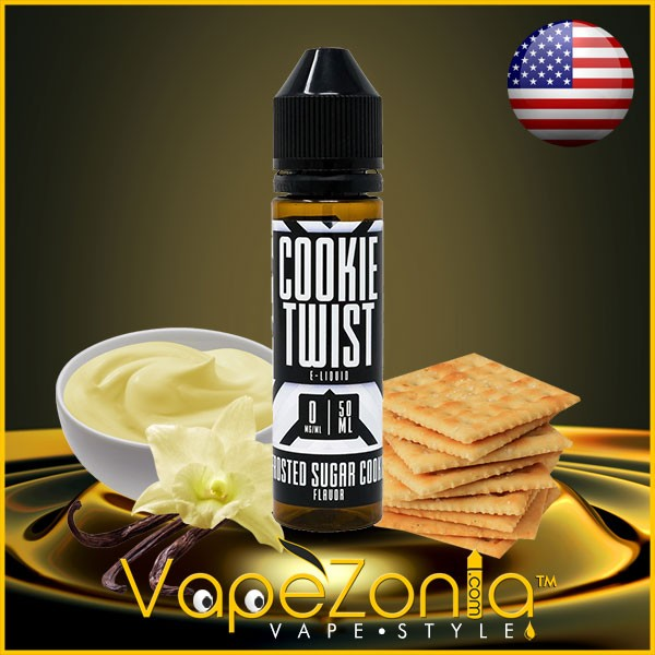 Cookie Twist e liquid FROSTED SUGAR COOKIE 50 ml
