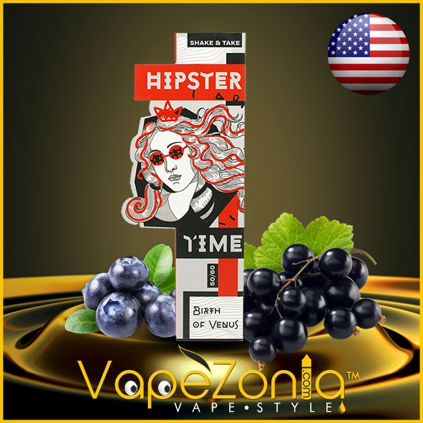 Hipster Time e liquid Birth of Venus 50 ml vape shop on line
