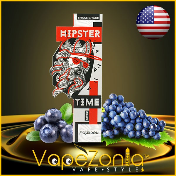 Hipster Time e liquid POSEIDON 50 ml vape shop Valencia