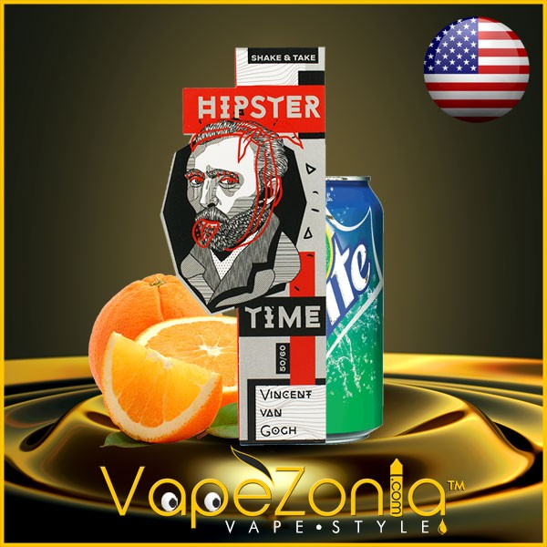 Hipster Time e liquid VINCENT VAN GOGH 50 ml