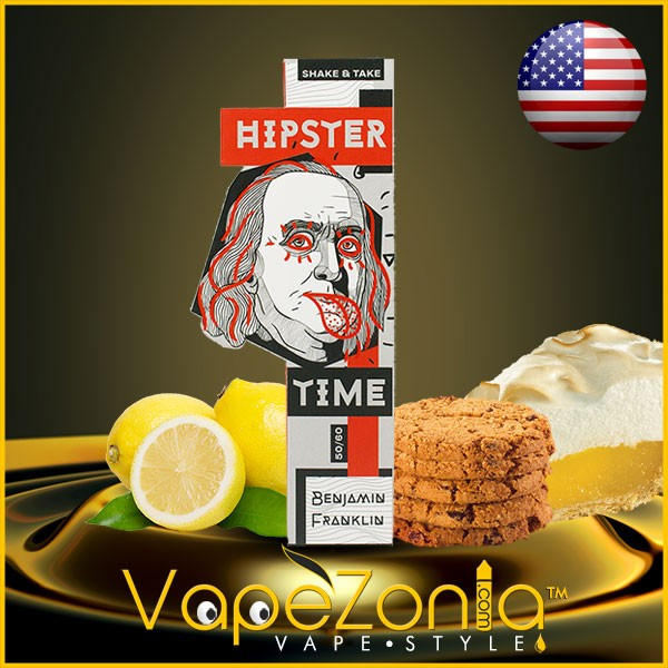 Hipster Time e liquid BENJAMIN FRANKLIN 50 ml vape shop Valencia