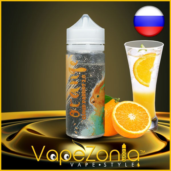 Cloud Parrot 2.0 ORANGE 100 ml vape shop France