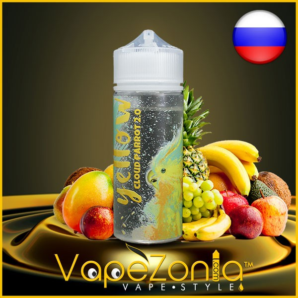Cloud Parrot 2.0 YELLOW 100 ml vape shop