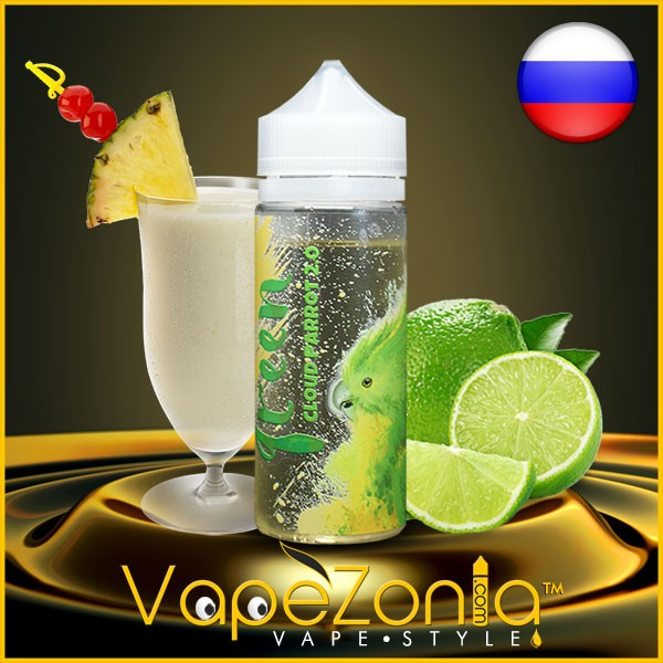 Cloud Parrot 2.0 GREEN 100 ml vape shop
