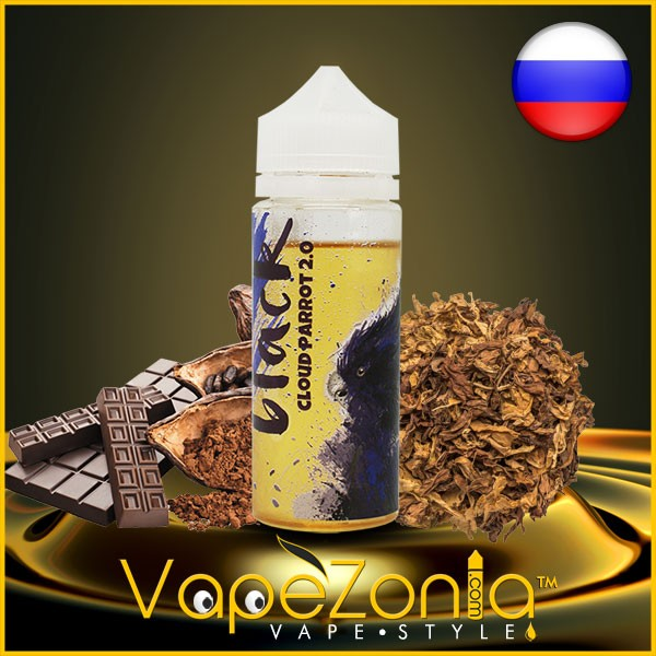 Cloud Parrot 2.0 BLACK 100 ml vape shop France
