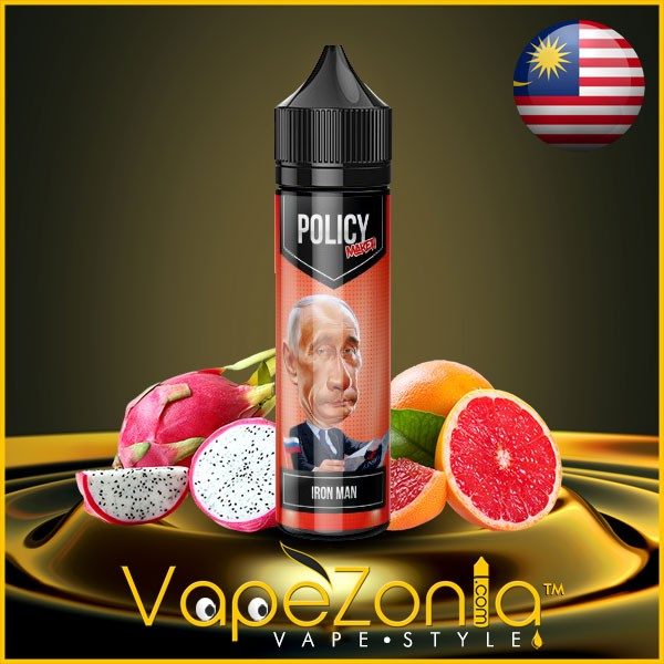 Policy Maker e liquid IRON MAN 50 ml vape shop Valencia
