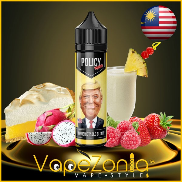 Policy Maker e liquid UNPREDICTABLE BLONDE 50 ml vape shop Valencia