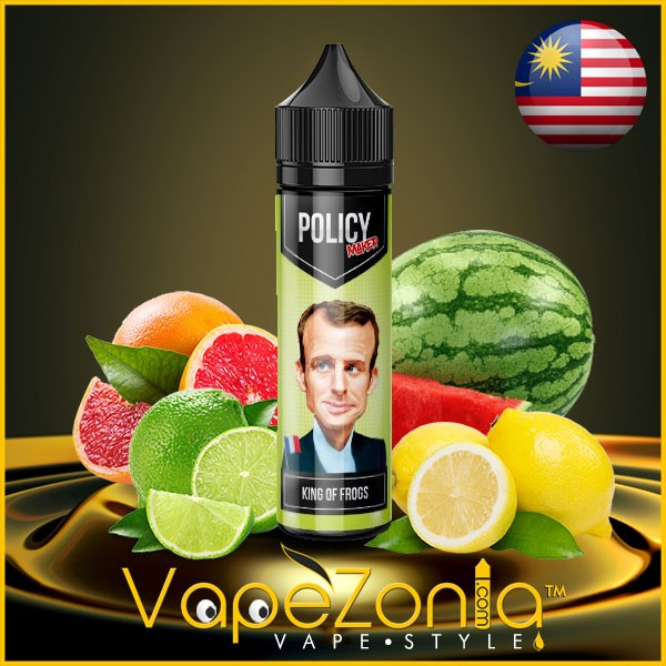 Policy Maker e liquid KING OF FROGS 50 ml vape shop France