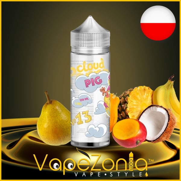 Cloud Pig e liquid Nº 13 - 100 ml vape shop