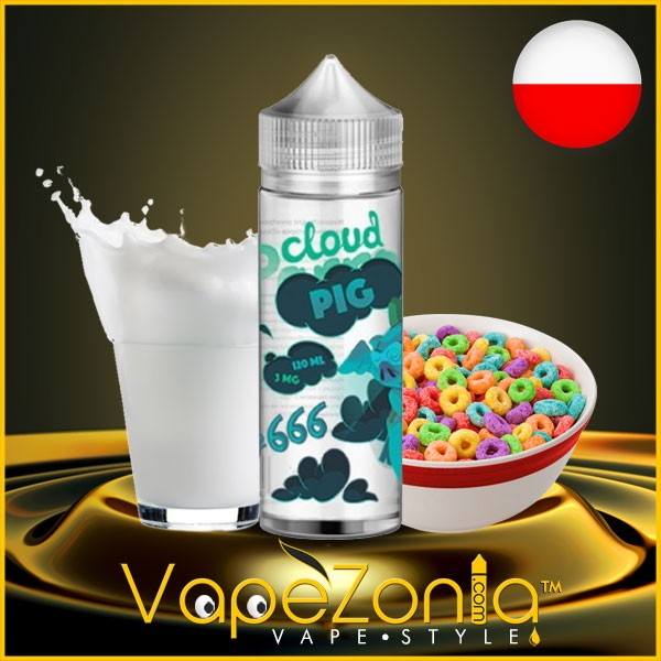 Cloud Pig e liquid Nº 666 - 100 ml vape shop