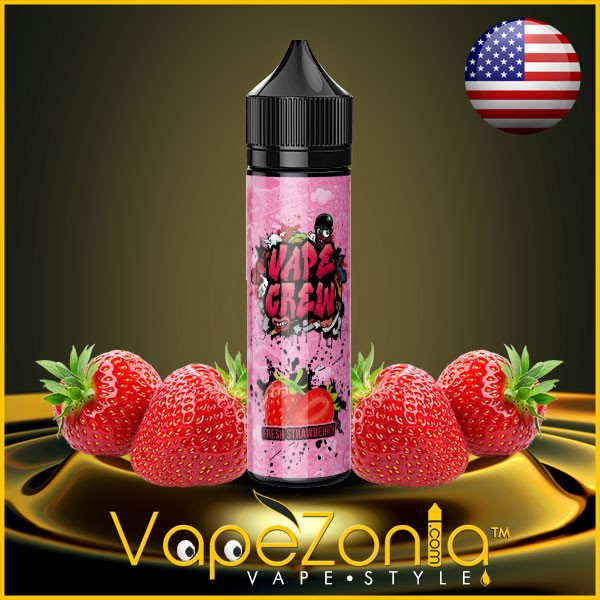 Vape Crew FRESH STRAWBERRY 50 ml
