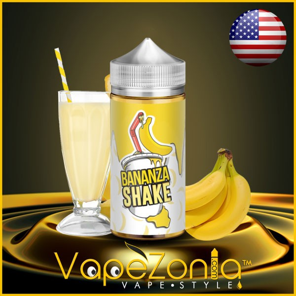 Milkshake liquids BANANZA Shake 80 ml vape shop on line