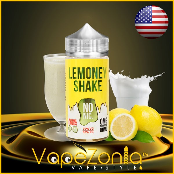 Milkshake liquids LEMONEY Shake 80 ml vape shop on line