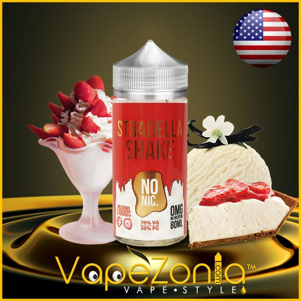 Milkshake liquids STRADELLA Shake 80 ml vape shop on line