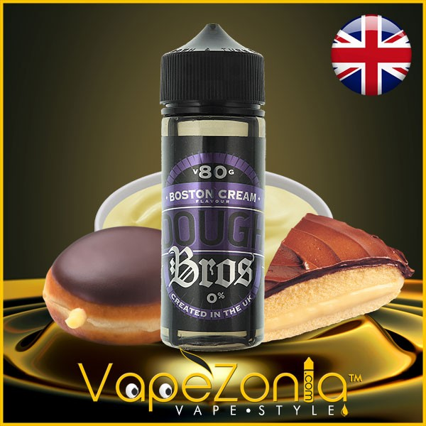 Dough Bros eliquids BOSTON CREAM 100 ml vape shop on line