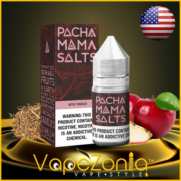 Pachamama Salts APPLE TOBACCO 20 mg