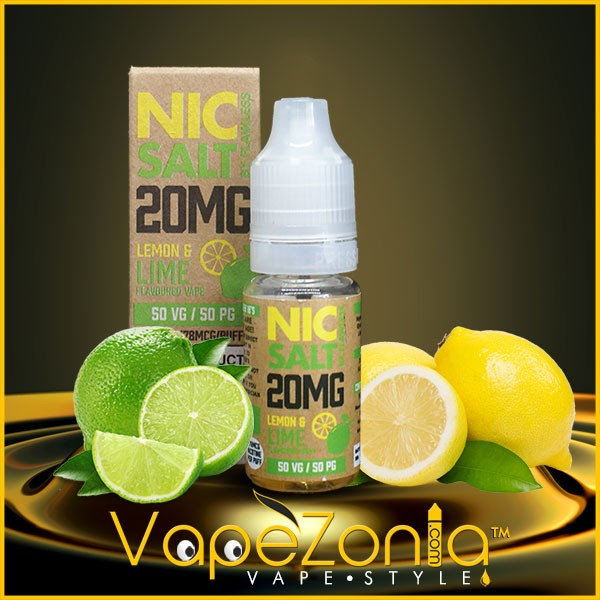 Nic Salt Flawless LEMON & LIME 10 ml