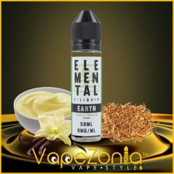 Elemental e liquid-EARTH-VANILLA-TOBACCO 50 ml