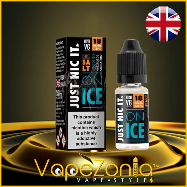 JUST NIC IT SALT ON ICE High VG- 10 ml
