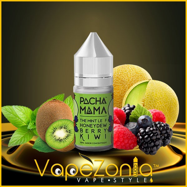 PACHAMAMA concentrate THE MINT LEAF HONEYDEW BERRY KIWI 30 ml