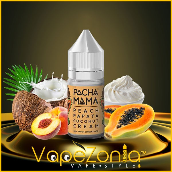 PACHAMAMA concentrate PEACH PAPAYA COCONUT CREAM 30 ml