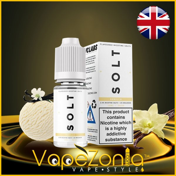 SOLT nic VANILLA 10 mg 10 ml