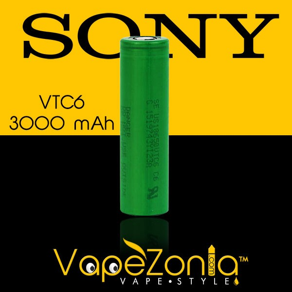 BATTERY SONY VTC6 3000 mAh