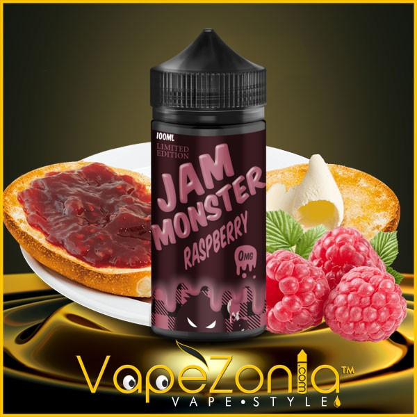 JAM MONSTER e liquid RASPBERRY 100 ml
