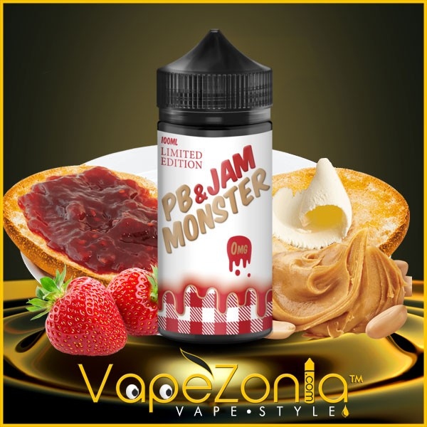 PB & JAM MONSTER e liquid LIMITED EDITION 100 ml
