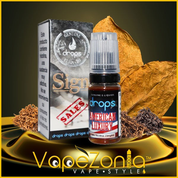 AMERICAN LUXURY DROPS SALES Signature 10 ml - 20 mg