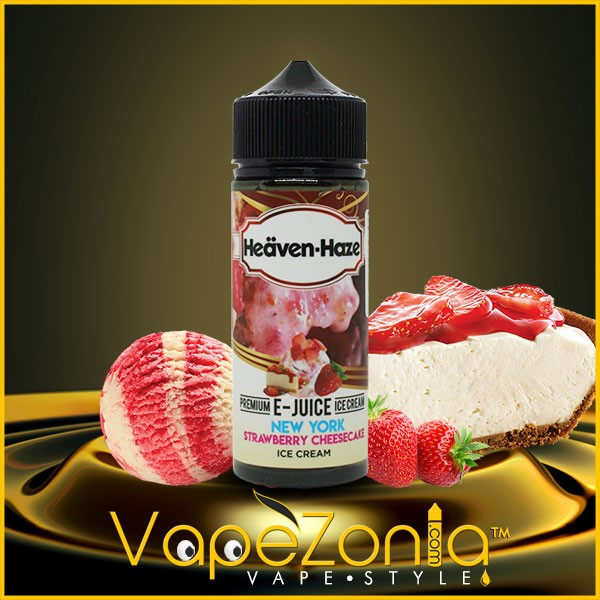HEAVEN HAZE e juice New York Strawberry Cheesecake Ice Cream 100 ml
