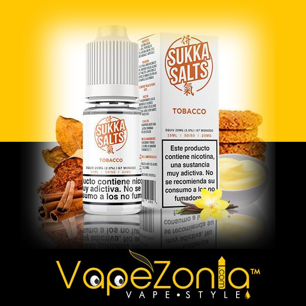 SUKKA salts TOBACCO 10 ml - 20 mg