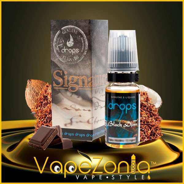 BLACK DJINN Drops Sales Signature 10 ml - 20 mg
