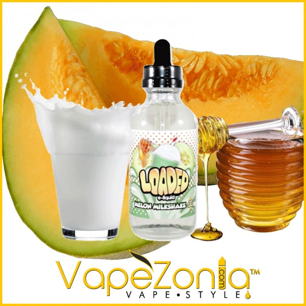Loaded eliquid MELON MILKSHAKE - 100 ml