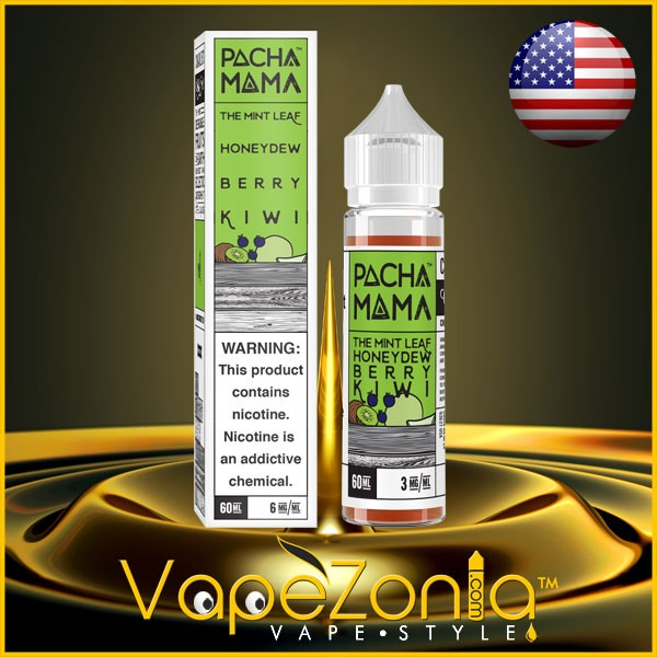 PachaMama The Mint Leaf Honeydew Berry Kiwi 50ml