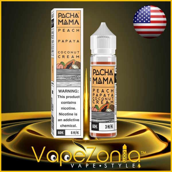 PachaMama Peach Papaya Coconut Cream 50ml