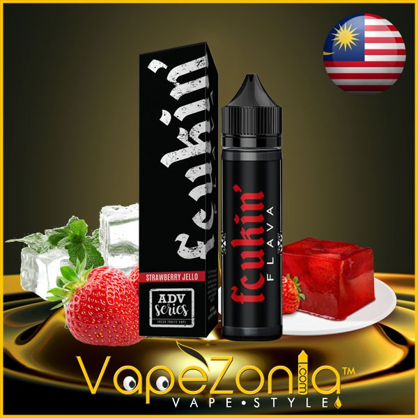 Fcukin Flava STRAWBERRY JELLO 50 ml